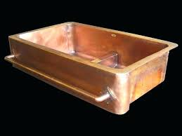Copper Undermount Sink Bar  N75
