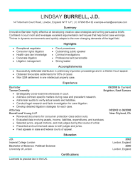 Experienced Attorney Resume Samples Resume Format Lawyer New Attorney Sample sraddme 28