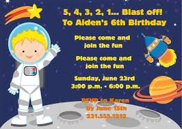 printable invitations for kids space birthday invitation kids birthday party printable for boys