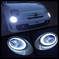 Fiat 500 Interior Light Bulb Led Drl Lamps For Abarth Fiat 500 New Generation