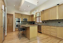 53 High End Contemporary Kitchen Designs With Natural Wood Cabinets