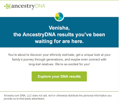 My Ancestry Dna Results Are Here Venisha Henry