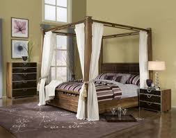 Natural Wood Bedroom Furniture Marvelous Ideas For Build A Wood Canopy Bed Frame Canopy Bed