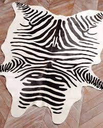 authentic zebra skin rug luxury super stylish zebra skin rugs intended for terrific faux zebra