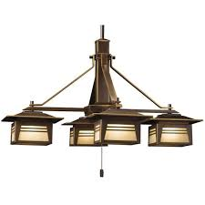 arts crafts mission style chandeliers ceiling fixtures