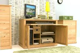 hideaway home office. Hideaway Computer Desk Workstation Home Office Furniture Crate And Barrel Desktop Tall Decorating Tips For Cou O