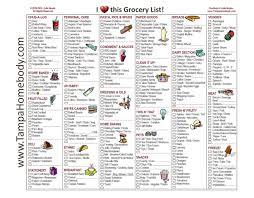 grocery checklist free shopping list tvsputnik tk