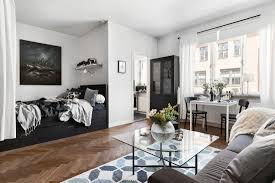 Klein Eenkamerappartement Van 35m2 In Ikea Style Huis Inrichtencom