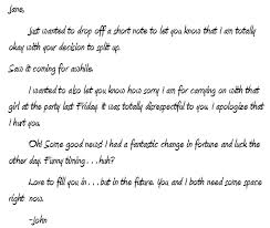 Awesome Collection Of Closure Letter To Ex Great Fresh Closure