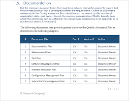 Software Implementation Plan Template Excel Qa Format Omfar Mcpgroup Co