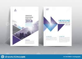 Page Design Templates Annual Report Cover Brochure Flyer Design Template Stock