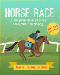 Free Vector | Color <b>poster</b> with title showing <b>horse</b> sport <b>riding</b>