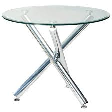 round glass dining table glass table tops round demi 90cm round glass top dining table decofurn