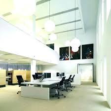 Best Lighting For Basement Office Overhead Fluorescent Offices Non Random Lights