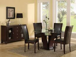 foxy image of dining room design and decoration with various glass dining table top replacement