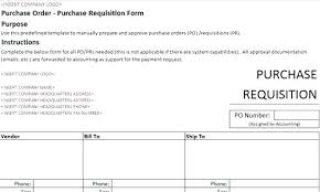 Sample Purchase Order Template Form For Travel Agency Letter