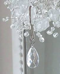 crystal shower curtain hooks shabby chic romantic chandelier drops target