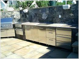 superb outdoor kitchen cabinet materials material cabinets for craigslist