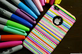 Decorate Pencil Case A Diy Iphone Case That Will Brighten Any Cold Winters Day Huffpost