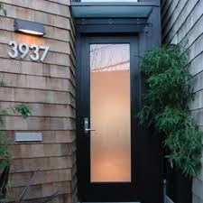 black glass front door. Cary Bernstein Architect - Choy 1 Residence Modern Entry With Black \u0026 Glass\u2026 Glass Front Door D