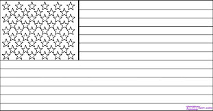 Adult United States Flag Coloring Page United States Flag Coloring
