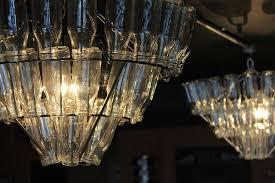 cafe restaurant riba our milk bottle chandeliers