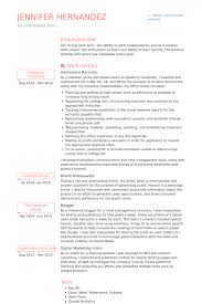 Recruiter Resume Examples Best Of Recruiter Resume Samples VisualCV Resume Samples Database