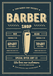 barber flyer barber shop flyer by lilynthesweetpea graphicriver