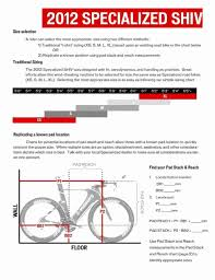 Specialized Bike Frame Size Chart 54 Exhaustive Specialized Venge Size Chart