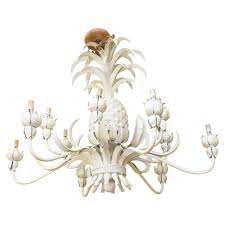 grand scale pineapple motif 12 light chandelier for