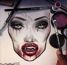 Mac Cosmetics Halloween Face Charts Instagram Makeupbybarbz