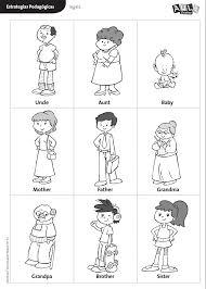 Family Worksheets for Preschool | Homeshealth.info