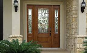 Decorating wood front entry doors with sidelights images : Front Entry Door with Sidelights » Home Decorations Insight