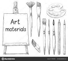 手描きアート素材白背景に分離しますキャンバス Atr の碑文材料