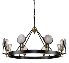 artcraft ac10603 baker street contemporary hanging chandelier loading zoom