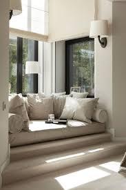 Fensterbank Sitzen Modern Gemütliche Kissen Lampen Home Sweet Home