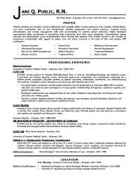 Examples Of Nursing Resume Objectives