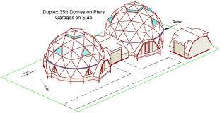 35ft kwickset domes duplex 35ft dome duplex first floor plan