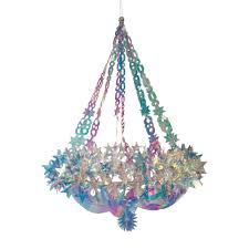 Weihnachten Shop Holografische Sterne Kronleuchter Fruugo
