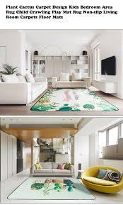 120180 Cm Pflanze Kaktus Teppich Design Kinder Schlafzimmer Bereich