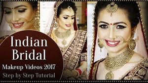 north indian bridal makeup tutorial video step by step bridal makeup tutorial krushhh by konica