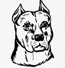 American Pit Bull Terrier Staffordshire Bull Terrier Decal Pitbull