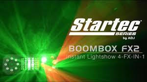 Startec Lights Startec By Adj Boom Box Fx2