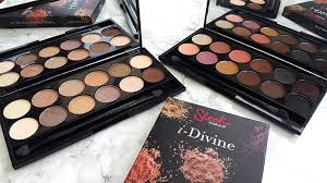 today i m really excited to talk to you about these gorgeous i divine eyeshadow palettes by sleek makeup i mentioned these briefly in my recent