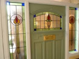 1930 s stained glass front door complete with frame the pictures to show larger views