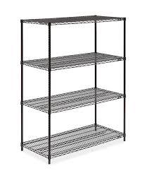 metal wire shelving unit