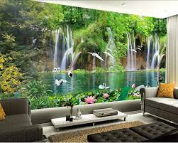 Beibehang Custom wallpaper natural ...