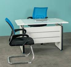 Wales Office Table White Office Desks Office Furniture