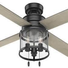 indoor matte black ceiling fan