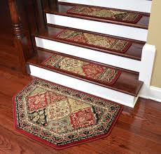 dining room amazing stair treads flooring rugs com set of 12 attachable carpet dazzling for